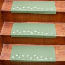 цена на 70*22*4.5cm Soft Stair Carpet Night Luminous Stair Treads Staircase Non-slip Mat Rug Protection Cover Pad Carpet Dropshippinng