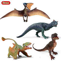 Oenux-figuras de acción de dinosaurio jurásico, modelos de Carnotaurus, Pteranodon, Pterosauria, t-rex, Cub