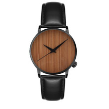 New Casual Fashion Wooden Watch Men's And Women's Watch Bamb