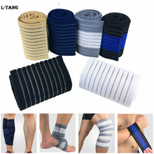 1Pcs Sports Bandage For Wrist Calf Elbow Leg Ankle Knee Support Protector Compression Sport Tape Fitness Gym L672