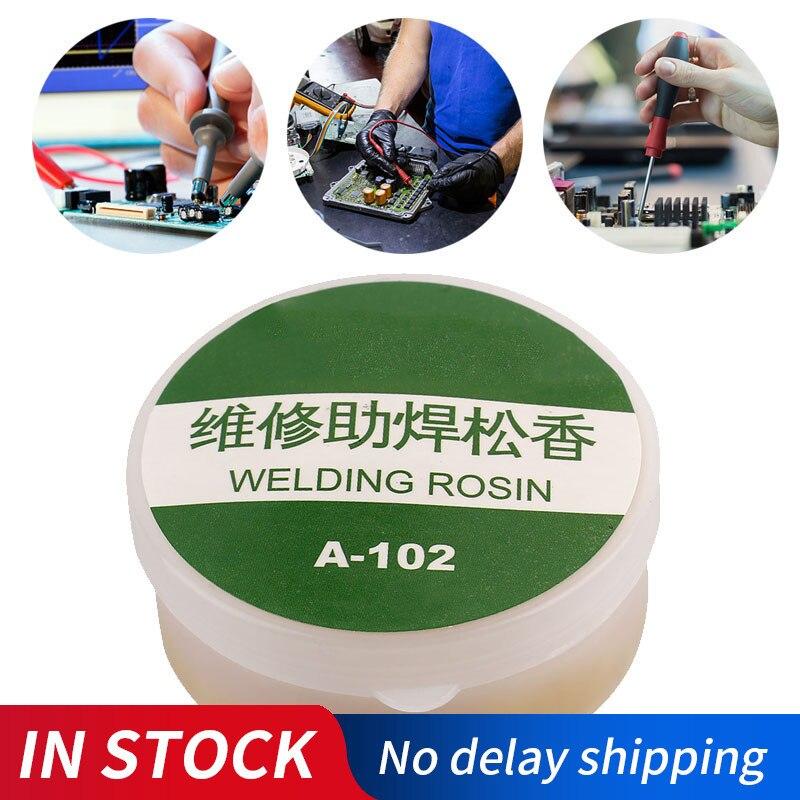 New Rosin Solder Soldering Paste Flux Repair Phone LCD PCB Grease Repair Mechanic No Clean Welding Tin Cream Solder Tools