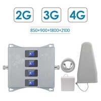 2g 3g 4g czterozakresowy wzmacniacz dla izraela nowa zelandia 3g CDMA 850 2g GSM 900 DCS 1800 WCDMA 2100 regenerator sygnału 2g 3g 4g wzmacniacz