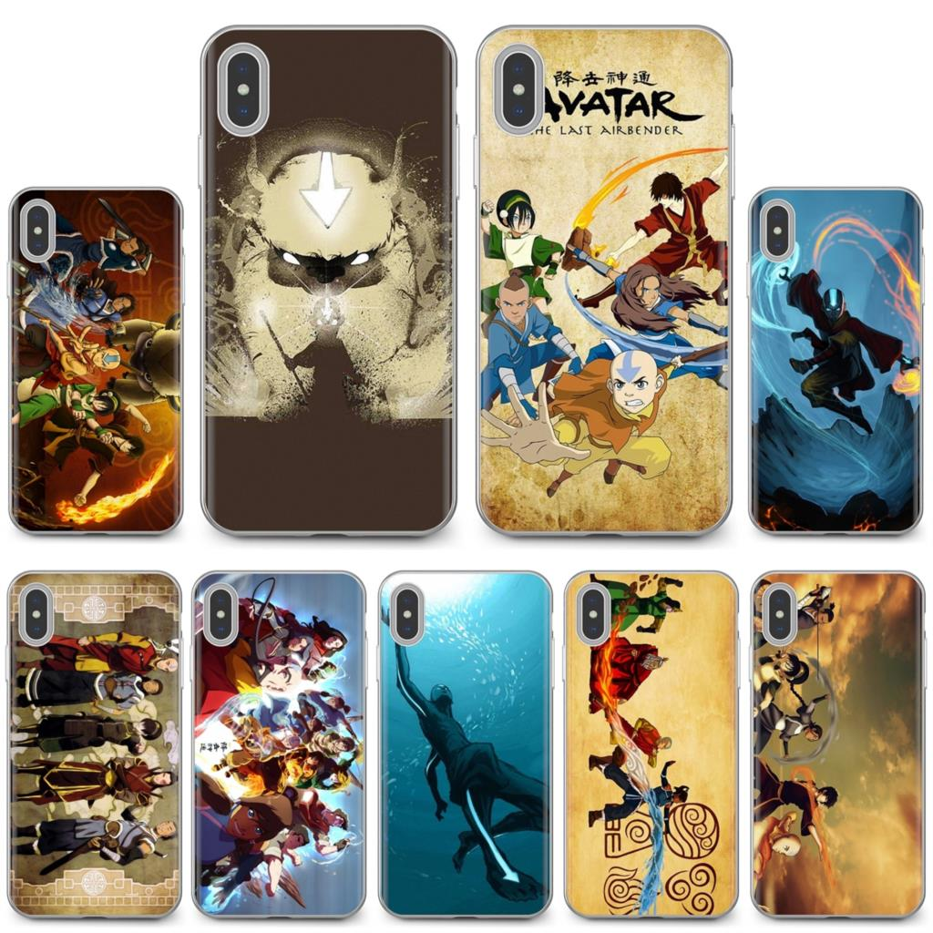 For ZTE Blade A910 A610 A530 A510 For Oneplus One plus 3T 5T 6T 6 7 7T Pro Avatar The Last Airbender Art Buy Silicone Phone Case(China)