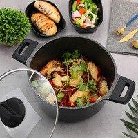24cm non stick pot for soup and noodle stock pots cookware kitchen cook pots and pans breakfast machine induction pot