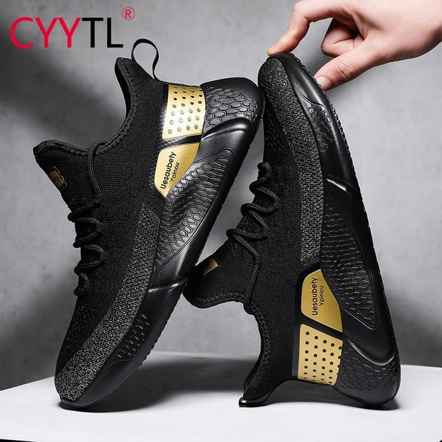 CYYTL Mode Männer komfort Schuhe Sommer Atmungsaktive Sport Turnschuhe Leichte Casual Mesh Männlichen Fuß Schuh Sportschoenen Heren