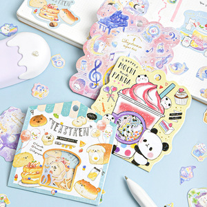 Cute Little Animals Collection Funny Stickers Kawaii Scrapbooking DIY Journaling Sticker Stationery Diary Sticker Japanese