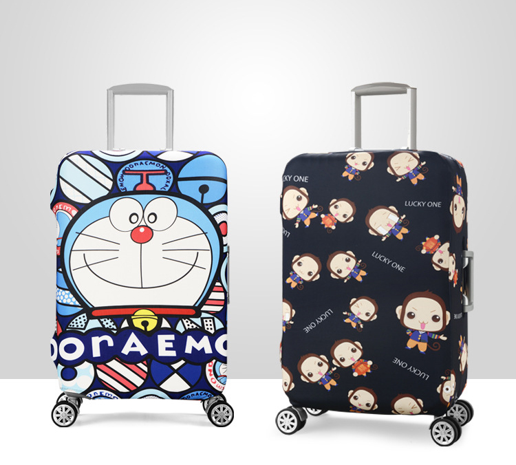 18-32 Inch Stretch Luggage Cover Suitcase Covers Travel Accessories Printed Striped Dust Cover Protective Case