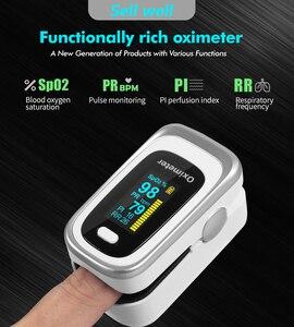Мини пальцевой Пульсоксиметр насыщение крови кислородом монитор насыщения крови кислородом SpO2 Монитор частоты дыхания без батареи