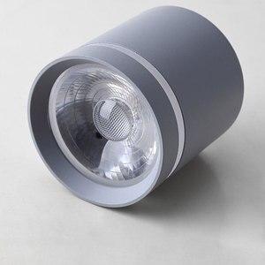 Image 5 - Macaroon spotlight luz de teto varanda sala estar quarto banheiro corredor pode ser escurecido lâmpada do teto downligh12w 9w 5 ac110v 220v