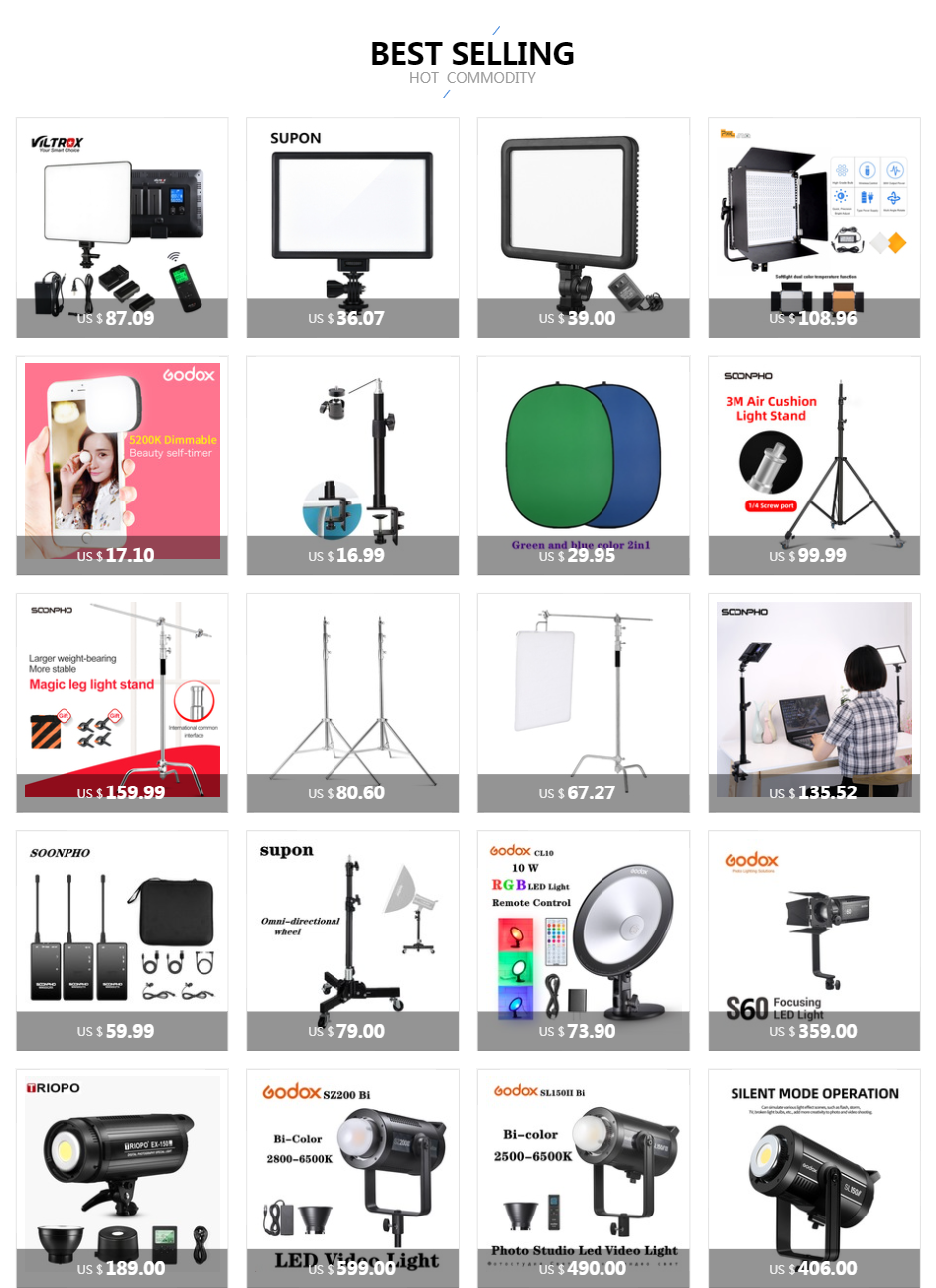 H4d03d7c596a343de97aa236bf5439bbeT soonpho RGB LED Camera Light Full Color Output Video Light Kit Dimmable 2500K-8500K Bi-Color Panel Light CRI 95+