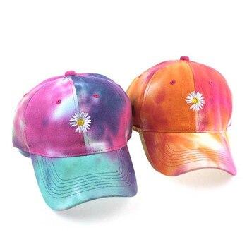 Nueva gorra de béisbol colorida para mujer, gorra de béisbol con bordado de flores para niñas, gorra Snapback para mujer, gorro femenino, sombrero de sol de verano con Graffiti