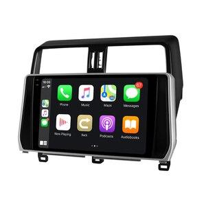 Image 4 - Android 10 Car Radio Stereo Head Unit Multimedia Carplay For Toyota Land Cruiser Prado 150 2018 2019 Support Canbus OEM Camera