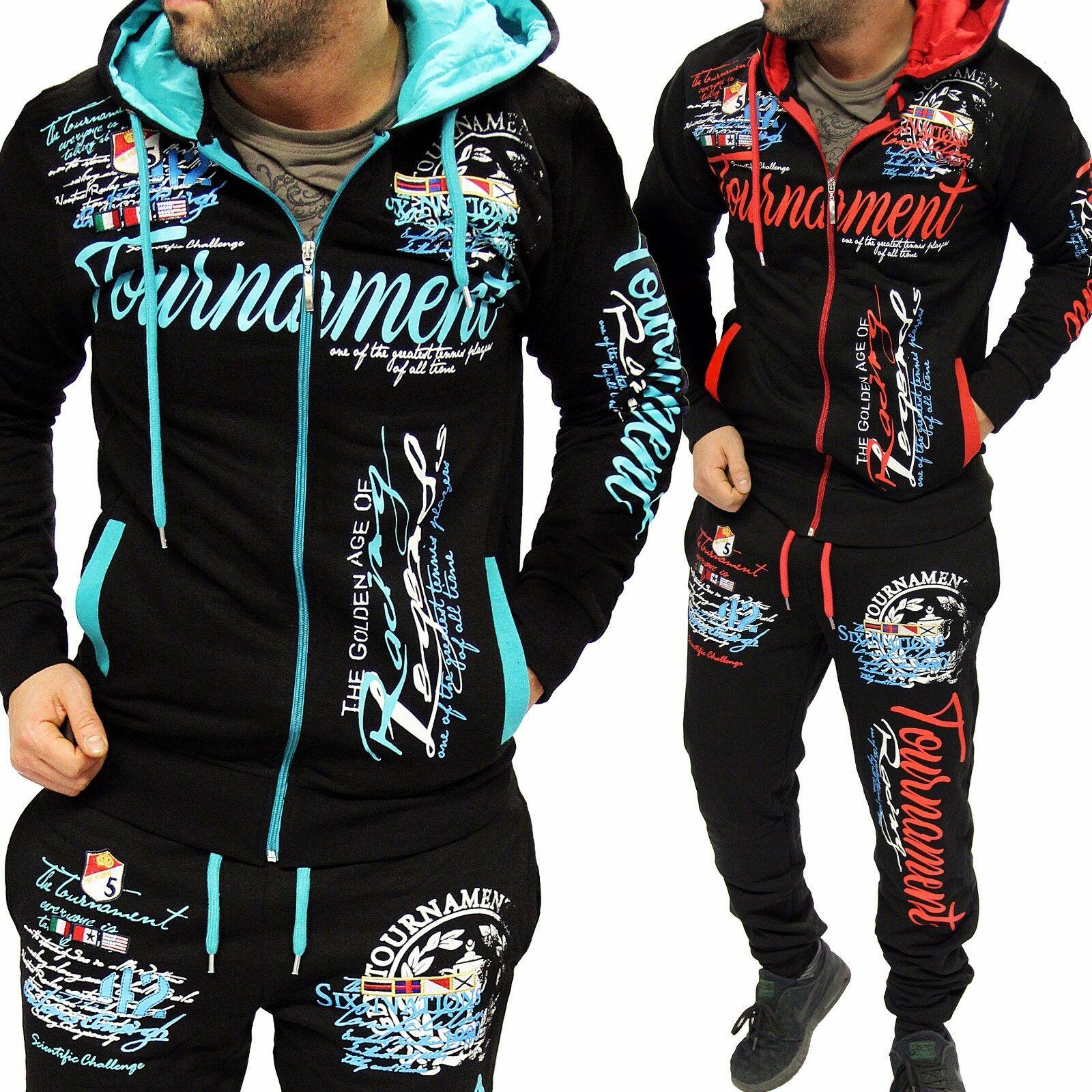 ZOGAA Men's Camouflage Tracksuit Hoodies+Sweatpants 2 Piece Sports Suit Large Size Fashion Sportswear Suit Casual Tracksuit Men