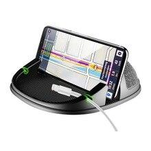Автомобильный кронштейн Универсальный нескользящий держатель для телефона gps кронштейн силиконовый коврик, Автомобильный интерьер для iPhone телефона