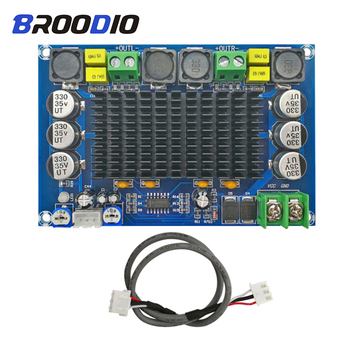 TPA3116D2 Digital Amplifier Board Power Dual Channel 150W*2 Stereo Audio Amplifiers With Preamplifier DC12-26V For Home Theater tda7498 bluetooth amplifier audio board dual channel 2x50w stereo amp digital power amplifiers support tf card aux home theater