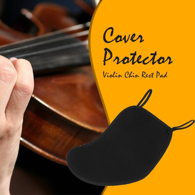 Cotton Violin Chin Rest Pad Cover Protector For 3/4 4/4 Musical Instrument Violin Accessories