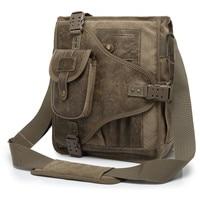 AERLIS Man Messenger Shoulder Bag 2019 Canvas Business Casual Zipper Handbag Male Satchel Cross Body Bags Men A4506