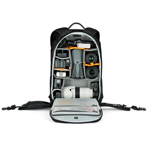 Image 5 - Lowepro ProTactic 450 aw/ 450aw II shoulder camera bag SLR camera bag Laptop backpack with all weather Cover 15.6 Inch Laptop