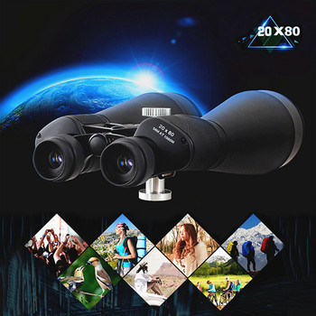 20X80 Powerful Binoculars Telescope Night Vision Telescope Astronomical Professional HD Military Binoculars for Hunting Space uscamel 8x42 binoculars professional telescope military hd high power hunting outdoor green