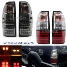 Feu de freinage arrière de voiture pour Toyota Land Cruiser 90 1997 1998 1999 2000 2001 2002 clignotant d'avertissement feux d'arrêt arrière