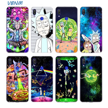 Rick And Morty Silicone Phone Back Case For Xiaomi Redmi Not