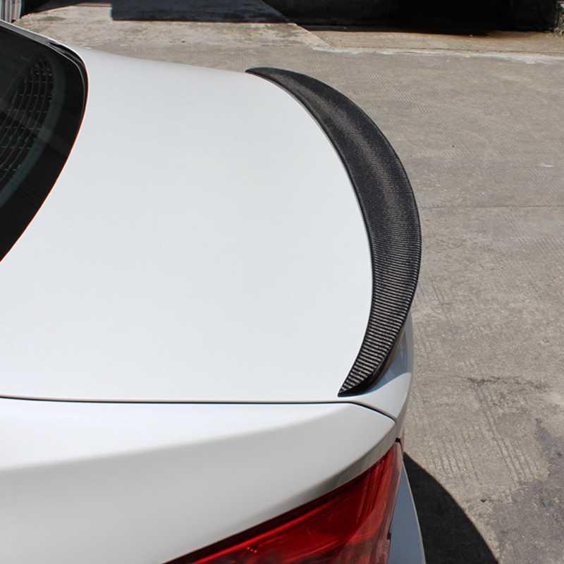 Montford Auto Carbon Fiber M5 Achterspoiler Staart Kofferbak Boot Wing Cover Voor Bmw 5 Serie G30 Spoiler 2017 Jaar auto Accessoires
