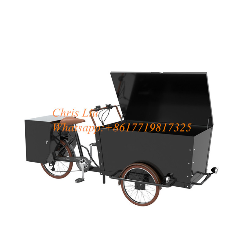 Chinese Cargo Bike Manufacturers 3 Wheel Cheap Cargo Bike Coffee Bike For Sale