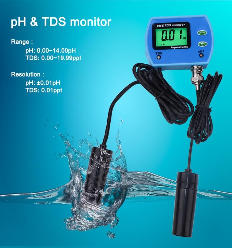 boa qualidade da água monitor ph tds