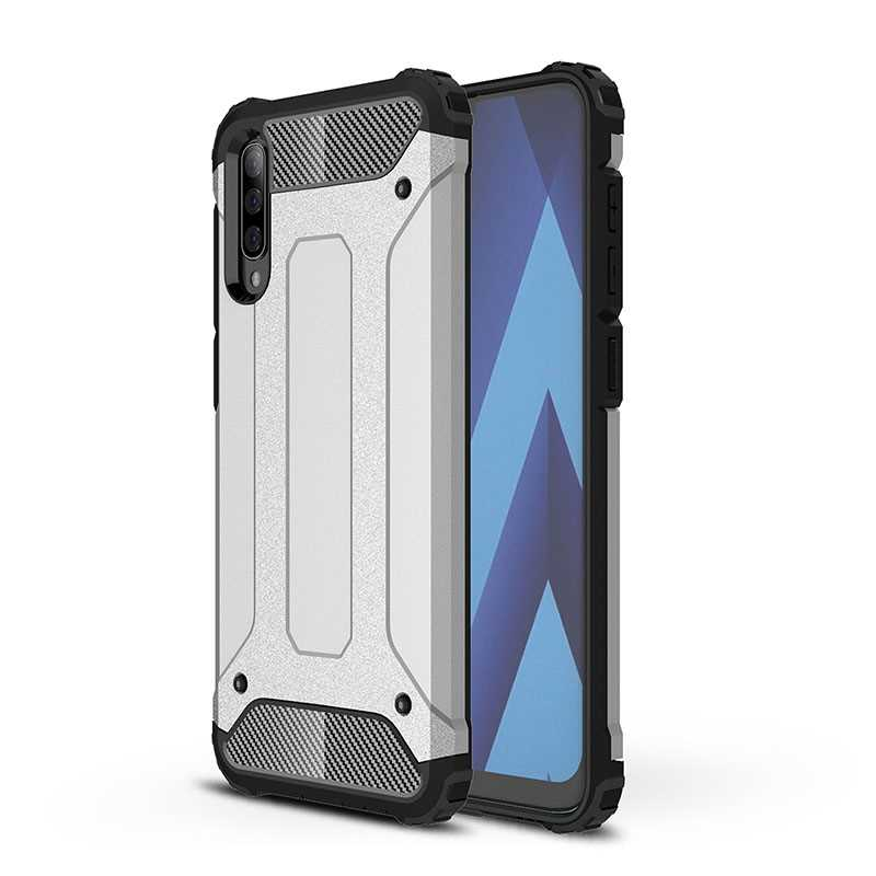 Mokoemi Armour Shock Proof 6.4For Samsung Galaxy A50 Case For Samsung Galaxy A50 Phone Case Cover image