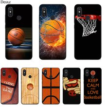 Case untuk Xiao Mi Mi 6 8 A3 Pro CC9E 9T Pro Max 3 9 Se F1 A1 a2 Lite 5X 6X Cover Basketball Wallpaper Hot Jual Fashion(China)