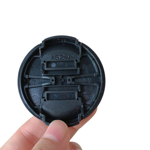 Image 3 - 30 100pcs 52mm 58mm center pinch Snap on cap cover logo for Fujifilm X A1X A2xa3XA5XA20XT10 16 50 58mm15 45 52mm camera Lens