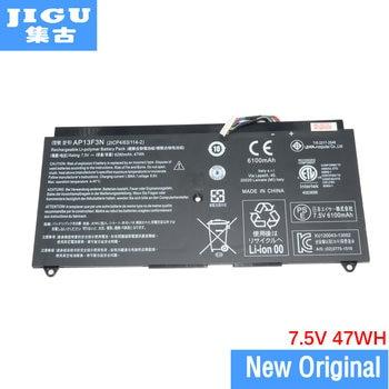 JIGU Original ordenador portátil batería 2ICP4/63/114-2 AP13F3N para ACER para Aspire S7-392...