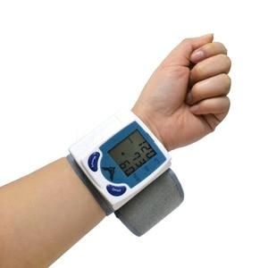 Image 4 - Health Care automatic sphygmomanometer Wrist Cuff blood pressure meter Pulse Monitor machine Heart Beat Meter tester analyser