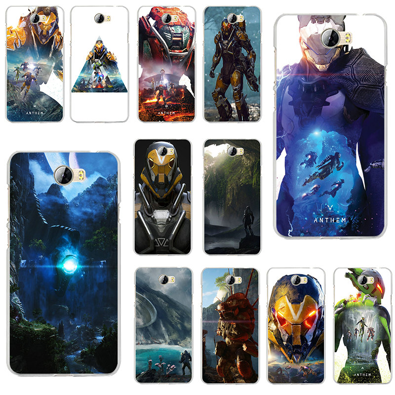 Anthem Video Games Soft TPU Phone Cases for Huawei P7 P8 P9 P10 P20 P30 P Smart Lite 2017 2019 Plus Pro Shell Silicone image