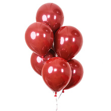 Ruby red balloon 10 inches 2.2 g double latex balloons married the wedding birthday decorations