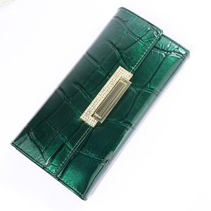 Image 5 - Womens Wallets  Brand Design High Quality Leather Wallet Luxury Stone Pattern Female Clutch Long Coin Card Holder Purses