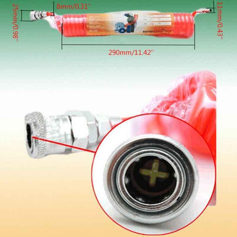 بو تلسكوبي خرطوم الربيع أنابيب هواء مضخة هواء ارتفاع ضغط أنبوب تلسكوبي ضاغط الهواء دوامة أنابيب الهواء 5 أنواع من بو أنابيب هواء