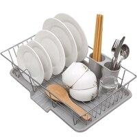 HHO Dishwasher Drain Basket Basket Household Dishware Drain Dish Rack Kitchen Sink Drain Basket Cool Hanging Dish Rack Kitchen S