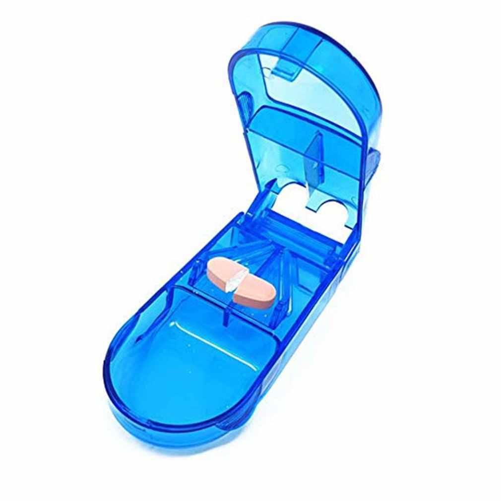 ピルカッター医学カッター医学分割薬箱ポータブル医学ポータブル小さな薬箱の薬箱