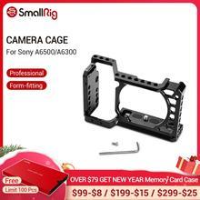 SmallRig עבור Sony A6500/A6300 מצלמה כלוב גרסה משודרגת מגן Dslr אסדת מצלמה עבור Sony A6500 אלומיניום סגסוגת כלוב  1889