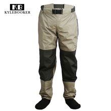 Fly Fishing Waist Waders Breathable Stockingfoot Waist High Pant Wader Guide River Pants Wading Trousers все цены