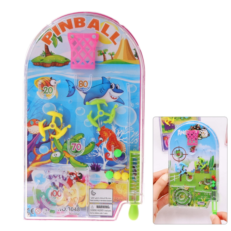 Novelty Pocket Pinball Toy Funny Party Games Machine Mini Puzzle Plaything Gift 24BE