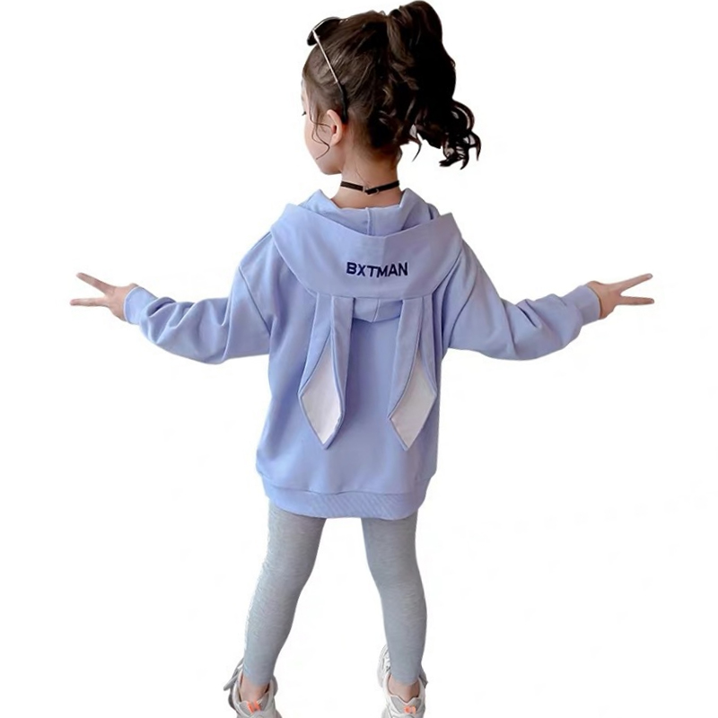 Fashion Girls Clothes Set Teen Girls Tracksuit Spring Autumn Long Sleeve 2pcs Children Suits Little Girl Sets 4 6 8 10 12 years 6