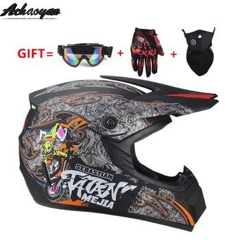 motorcycle helmet Adult motocross capacete Off Road ATV Dirt bike Downhill MTB DH kask racing helmets cross capacetes casco