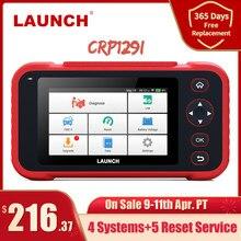 Lançamento x431 crp129i profissional obd2 scanner automotivo sas srs epb óleo redefinir obd 2 ferramenta de diagnóstico do carro eobd lançamento scanner