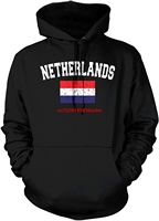 Autumn and winter hohoodies men funny Printed hoodie sweatshirt Men's Flag of The Netherlands, Dutch Flag Hooded Sweatshirt