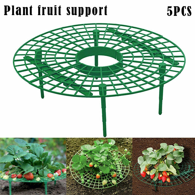 Balcony Vegetable Rack Fruit Stand Strawberry  Plant Support  Growing  Shelf  Protection