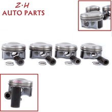 NEW STD 82.5mm Piston & Piston Rings Kit Pin 23mm 06H 107 065 DF For Audi A3 A4 A5 TT VW Golf Passat Jetta CC 1.8TSI 06J198151B genuine new high quality camshaft kit fit for vw cc r32 rabbit passat cc golf passat audi a3 a4 1 8t 06h109021j 06h109022l