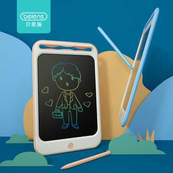 Beiens desenho brinquedos para crianças lcd placa de desenho crianças desenho tablet zero pintura brinquedo com anti-apagar bloqueio presentes de aniversário