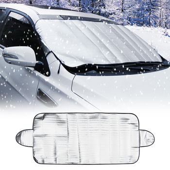 Car Windscreen Cover Ice Snow Dust Protector For Toyota Camry Avensis Aygo Belta Blade Brevis Caldina Cami image